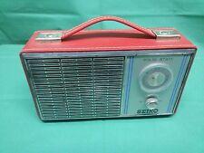 Rara Radio Transistor portatile SEIKO Solid state AM Vintage originale FUNZIONA