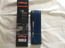 Challenge Gara 700x23 Foldable Clincher Bicycle Tire Blue/black