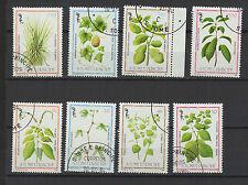 plante 1983 St Tome et Principe série de 8 timbres oblitérés / T1397