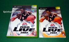 NBA Live 2002 fuer Microsoft Xbox und Xbox360 mit Anleitung und OVP