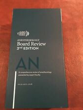 Anesthesiology Board review ( 60 cd's )  2018-19 , brand new in original box