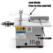 Miniature Precision Small Table Saw Blade DIY Woodworking Cutting Machine 12-24V