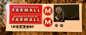 Decal for IH M Pedal Tractor - new NOS - Scale Models