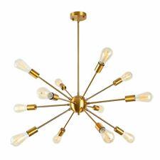 Industrial Sputnik Chandelier Pendant Lighting Ceiling Hanging Fixture 12-Lights