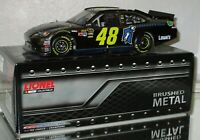 2012 #48 Jimmie Johnson Foundation BRUSHED METAL 1/24 car#41/72 AWESOME RARE CAR