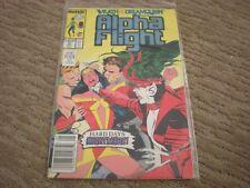 Alpha Flight #70 (1983 series) Marvel Comics Vf/Nm
