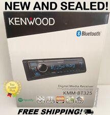 New! Kenwood KMM-BT325 In-Dash Radio Head Unit Bluetooth Car Stereo System