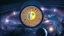 Cosmic Sun Moon Yin Yang Alpha Omega Night Day Cosmos Astrology Solar Ra Patch X