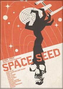 Star Trek The Original Series Space Seed Episode Poster Refrigerator Magnet, NEW