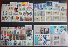 Germany Complete Year 1991 Stamp Set with Self Stick & Singles MNH German Stamps