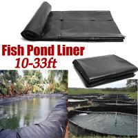 10-33ft Fish Pond Liner Garden Pool HDPE Membrane Reinforced Landscaping USA