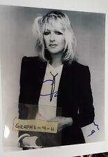 Christine McVie Signed Fleetwood Mac Autograph COA proof b