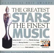 CLASSICAL BRIT AWARDS - CLASSIC FM CD (2003) MURRAY PERAHIA, COLIN DAVIS ETC