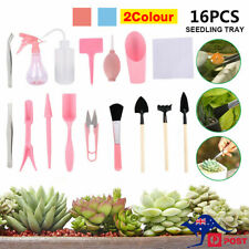 16pcs Mini Gardening Tool Kit Potted Fleshy Garden Hand Succulent Bonsai Plants