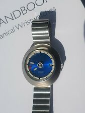 Zodiac Orbiter Automatic Date Mystery Dial, Stainless Steel, 722.953, Vintage
