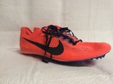 MENS NIKE SIZE 11 ZOOM VICTORY RACING RUNNING SHOES ORANGE & BLUE 835997-804