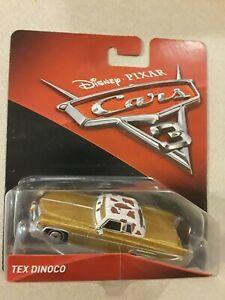 Disney PIXAR Cars 3 TEX DINOCO