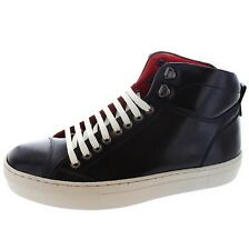 Base London Tablet In Pelle Hi Tops 6 UK 40 EU