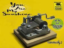 You are my Sunshine Spieluhr Musikuhr Musicbox Spieldose Neu Johnny Cash