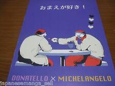 Teenage Mutant Ninja Turtles doujinshi Donatello X MICHELANGELO 8pages allcolor