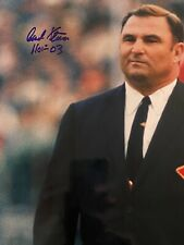 Hank Stram Kansas City Chiefs Signed Autographed 16x20 Photo COA