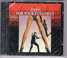 CD ALBUM JAMES BOND 007  REMASTERED  FOR YOUR EYES ONLY 19 TITRES ROGER MOORE