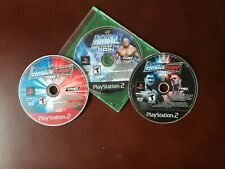 WWE Here Comes The Pain+Smackdown vs Raw 2006+2007 ps2 DISC ONLY TESTED-WORKING