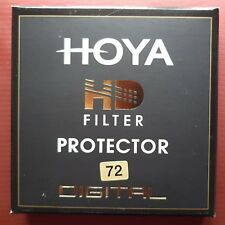 Genuine New Hoya HD 72mm Thin/Slim  High Definition Protector Filter NEW