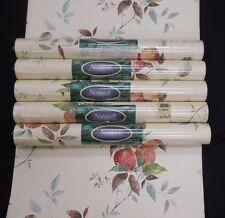 Norwall Wallpaper Trailing Raspberries Peaches Pears Grape KT15502 Lot of 5 roll