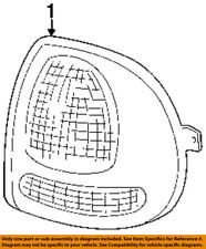 CHRYSLER OEM-Taillight Tail Light Lamp Assy Left V4576245AB