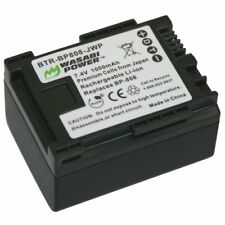 Wasabi Power Battery for Canon BP-808, BP-809 (1000mAh)