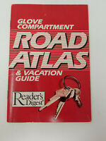 Vintage Glove Compartment Road Atlas and Vacation Guide Reader's Digest 1987
