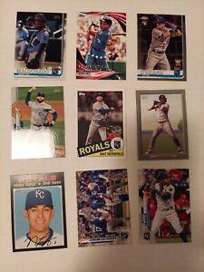 Kansas City Royals Large Lot Of Baseball Cards 2000+