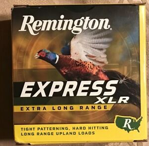 Remington Express XLR 12ga EMPTY shell box #SSB31 pheasant