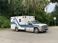 2008 Ford F350 Ambulance Diesel Fl Truck 1 Owner Taylor Made