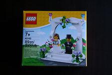 LEGO Wedding Favor Set 40165 NEW & SEALED Bride Groom Minifigures Cake Topper
