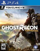 NEW Tom Clancy's Ghost Recon: Wildlands (Sony PlayStation 4, 2017)
