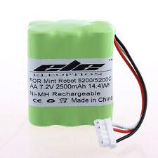 7.2V 2500mAh NiMH Floor Cleaner Battery for iRobot Mint 5200 5200C
