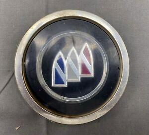 "91-92 Buick Roadmaster Wire Wheel Center Hub Cap Emblem 4 3/8"" GM OEM #2"