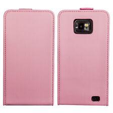 Flip Case Samsung Galaxy S2 i9100 Tasche Etui Schutzhülle Hülle Case Rosa Pink