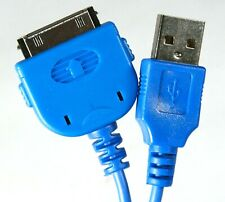 Apple iPhone USB Charger Cable Blue for 1st 2nd Gen 1G 2G 3G 3GS 4 4G 4S