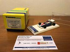 TOLEMAN SENNA F1 TAMEO 1/43 N. BBR TRON MG BOSICA AMR  MERI MR MFH