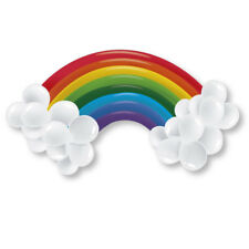 Rainbow & Clouds Colourful Balloon Kit Arch Banner Party Decoration Kit