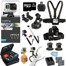 GoPro HERO4 Black Edition All In 1 PRO Accessory Mount Bundle For All Occasions