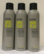 KMS Hairplay Playable Makeover Spray 3 Pack 6.7 oz. *** 3 PACK NEW BOTTLE ***