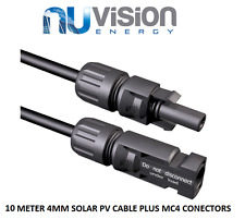 10 METER 4MM SOLAR PV CABLE PLUS MC4 CONECTORS TOP QUALITY