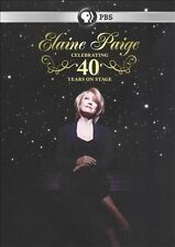 ELAINE PAIGE Celebrating 40 Years on Stage DVD PBS Home Video Live in Concert