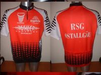 Engelbrau Agu Shirt Jersey Top Adult Large Cycling Cycle Bike Vintage italy Red