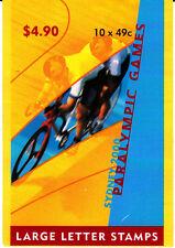 2000 Sydney Paralympic Games - Stamp Booklet 1 Koala reprint (SB136)Gen Barcode