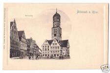 Germany postcard Biberach a. Riss. Marktplaz undiv back
